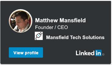 Matthew Mansfield Linkedin Profile